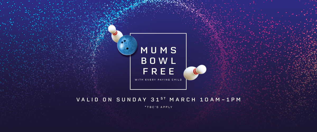 Mothers Day At Cosmic Bowl at M&D's